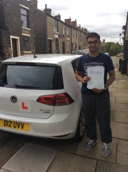Well done Dhamu on passing your driving test, good drive, keep up the standard - Wishing you all the best
